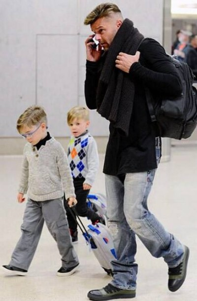 Ricky martin twin sons opinion you