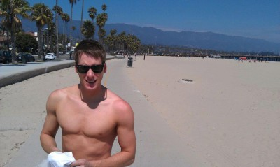 snapped dustin lance black on vacation