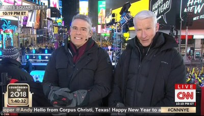 Twitter Was Left Unimpressed By Anderson Cooper And Andy Cohen Hosting  CNNu0027s NY Eve Coverage