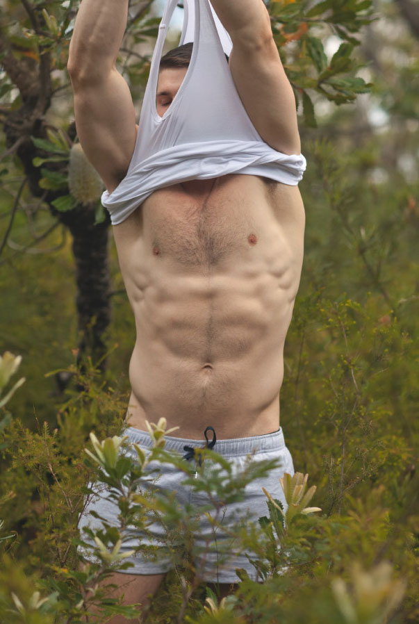 Gay man in the high desert