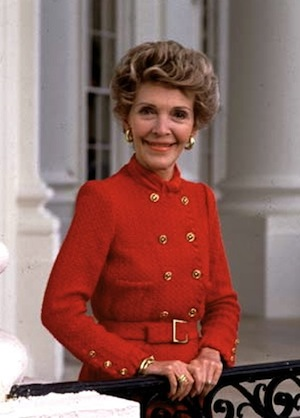 nancy reagan died