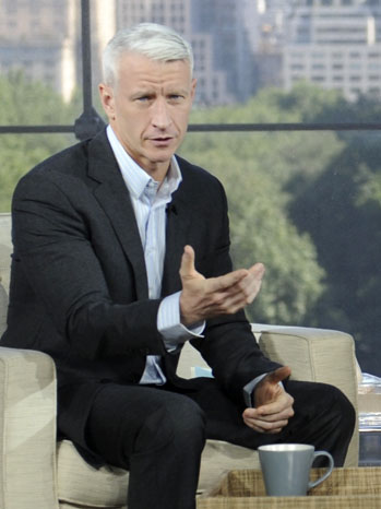 from London anderson cooper being gay