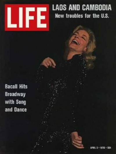 Moments from legendary life of Lauren Bacall