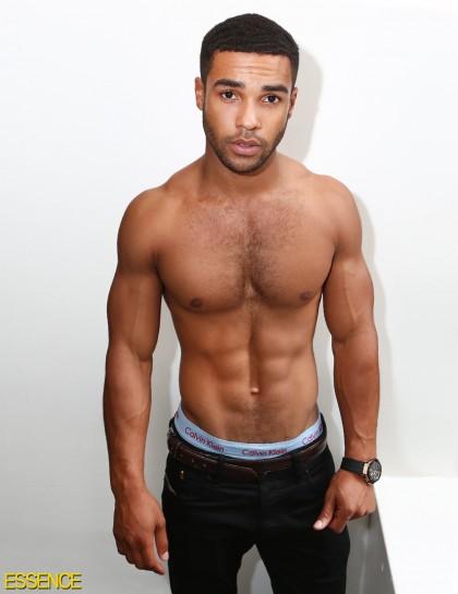Lucien Laviscount: Bac... Jaleel White Muscles