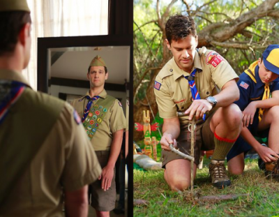 nifty gay camping scout camp boys